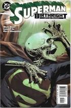 Superman Birthright Comic Book #10 DC Comics 2004 NEAR MINT NEW UNREAD - $3.50