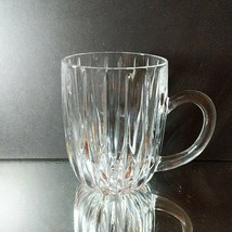 1 (One) MIKASA PARK LANE Cut Lead Crystal Mug DISCONTINUED - $23.74