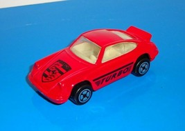 CORGI 1 Loose Car Porsche 911 Carrera Turbo Red - $9.00