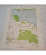 1940 VTG Map New York Cicero geological survey topo oneida river (b2)9 - $64.35