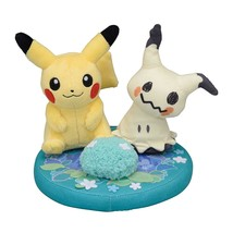 Pokemon Center Original Diorama Stuffed Doll Pikachu and Mimicque - $63.95