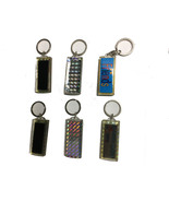 SOLAR POWERED ASSORTED KEY CHAINS - 3 PIECES PER ORDER - $8.25