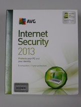 AVG Internet Security Suite 2013 Version 12, 3 Users + free upgrade to 2019 - $19.95