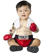 Incharacter Baby Bruiser Boxer Punchy Boxing Infant Halloween Costume 16072 - $36.36
