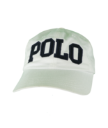 Vintage 90s Ralph Lauren Spell Out Block Logo Adjustable Cotton Dad Hat ... - £63.55 GBP