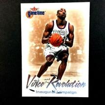 Vince Carter 2000-01 Fleer Game Time Vince and the Revolution Insert Car... - $2.92