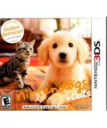 Nintendo 3DS - Nintendog's & cats, Golden Retriever, & Friends - $9.95