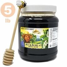 Goshen Honey Amish Extremely Raw BUCKWHEAT Honey 100% Natural Domestic D... - $63.90