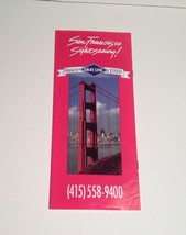 San Francisco Gray Line Brochure 1993 Travel Booklet California CA - $17.10