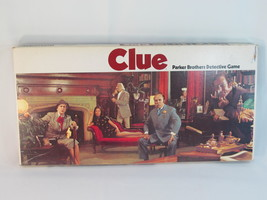Clue 1972 Mystery Detective Board Game Parker Brothers 100% Complete Bilingual - $17.24