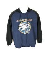 Star Wars Youth Hoodie Jacket Blue XL - $19.79