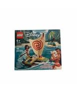 New Lego 43170 Disney Princess Moana's Ocean Adventure 6+ New 46 Pieces - $19.99