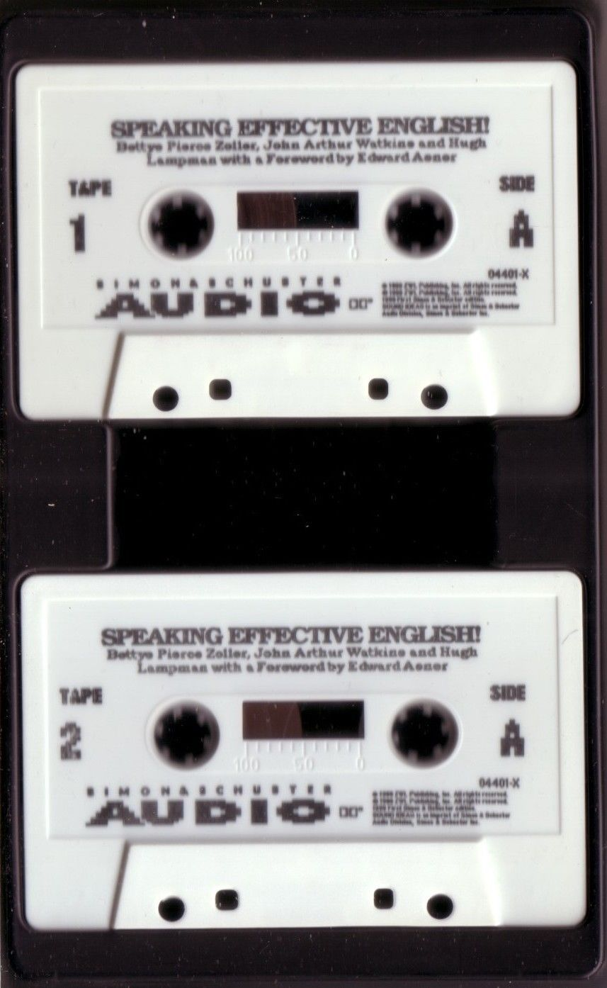 Speaking Effective English Guide Personal Professional Communication Cassettes