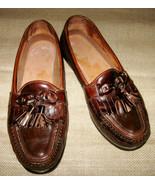 Johnston & Murphy Men's Sz 9 M Brown Passport Slip-on Leather Loafers Ma... - $49.99