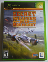 XBOX - SECRET WEAPONS OVER NORMANDY (Complete with Manual) - $12.00