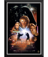 Star Wars Ep III Revenge Of The Sith - Vintage Movie Poster - Framed Canvas - $370.00