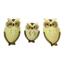 Vintage ENESCO OWL Dishes | Lot 3 | Spoon Rest - Wall Plaque - Soap Pad ... - $14.80