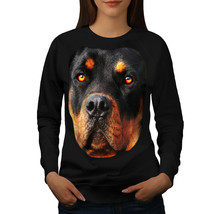 Rottweiler Pup Animal Dog Jumper Lovely Dog Women Sweatshirt - $18.99