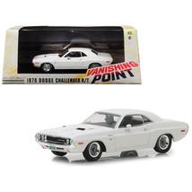 1970 Dodge Challenger R/T White Vanishing Point (1971) Movie 1/43 Diecas... - $26.57