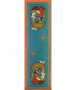 Vintage Permin Embroidery Xmas Nativity Table Runner Cross Stitch Kit 10... - $16.99