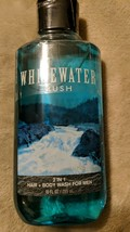 Bath & Body Works Whitewater Rush 2 in 1 Hair & Body Wash for Men - $14.85