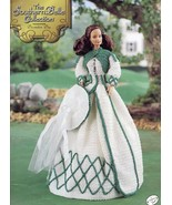 Southern Belle Decoration Day Outfit Fits Barbie Annie's Crochet Pattern - $8.97