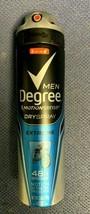 Degree Motion Sense 48H Antiperspirant Dry Spray Extreme Men - 3.8 oz  Exp 7/22 - $6.92
