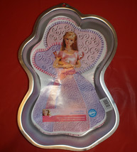 Wilton Enchanted Barbie Cake Pan with Insert Brand New! Instructions Fre... - $19.79