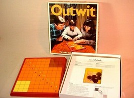 "VINTAGE 1978 PARKER BROTHERS BOARD GAME OUTWIT ""IT LOOKS EASY TIL YOU TR... - $25.73"