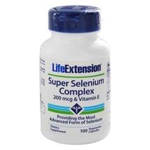 Life Extension Super Selenium Complex 200 mg with Vitamin E 30 mcg., 100 Vegetar - $12.55