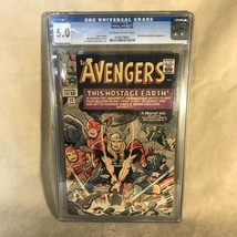 Avengers #12 1965 Marvel Comics CGC Graded 5.0 - £88.77 GBP