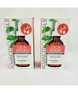 2X Advanced Clinicals Anti-Wrinkle Face Serum With Cica Serum 1.75oz each - $35.95