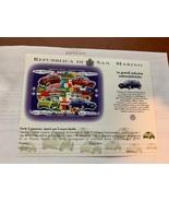 San Marino Volkswagen s/s 1997 mnh - $6.95