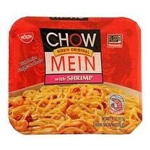Nissin Microwavable Chow Mein With Shrimp 4 Oz - $8.56
