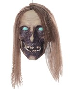 New Animated UNDEAD CATHY SEVERED FEMALE ZOMBIE HUMAN HEAD Halloween Hor... - $53.87
