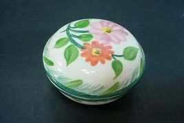 Franciscan flower trinket box - $14.83