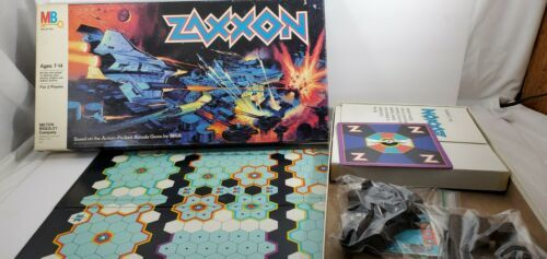 Primary image for Zaxxon Never Played Milton Bradley Board Game MB 1982 SEGA Complete MB 4316