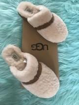 New UGG Dalla Slippers Size 9 Natural Beige Australia Women's - £51.65 GBP