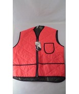 NOS Reversible Hunting Vest - Insulated - Orange & Camo - Size M - Made ... - $11.83