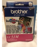 Brother LC-51M Magenta Ink MFC240c-440cn-3360 Date  2012 - $12.77