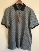 bcbaf6a14074 Gucci Men's Polo Shirt Gray /GG Monogram Print/ Size:XL - $219.00