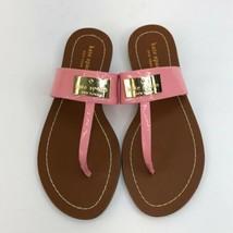 Kate Spade Pink Thong Sandals / Slip on Slides sz 6.5 - $61.81