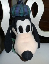 Disney Store Golf Club Head Cover GOOFY w/ blue and green plaid hat EUC - $49.00