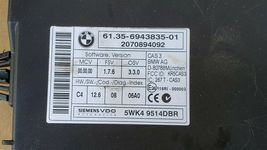 BMW 335i N54 ECU ECM DME CAS3 Ignition Switch Fob SET - Turbo Auto image 10