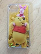 Disney Winnie The Pooh Glitter Quicksand Case For iPhone 7 Plus - $13.99