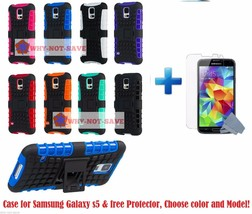 Premium Deluxe Hard ShockProof Rugged Impact Case Cover for Samsung Gala... - $12.99+