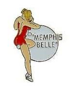 USAF MEMPHIS BELLE NOSE ART PIN - $5.93