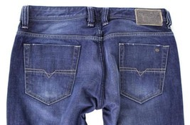 NEW DIESEL MEN'S PREMIUM DESIGNER DENIM REGULAR STRAIGHT LEG JEANS VIKER 0802D