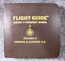 Flight Guide Airport & Frequency Manual Central & Eastern US Vol 2 1964 - $6.52
