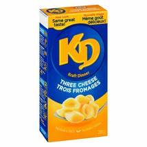 6 X Kraft DINNER 3 Three Cheese FULL SIZE 225g/ 7.9oz- Mac N Cheee- Cana... - $16.78